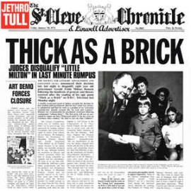 JETHRO TULL : LP Thick As A Brick