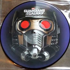 BATES Tyler : LP Picture Guardians Of The Galaxy : Awesome Mix Vol. 1