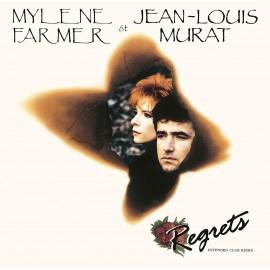 """MYLENE FARMER / MURAT Jean-Louis : 12""""EP Regrets"""