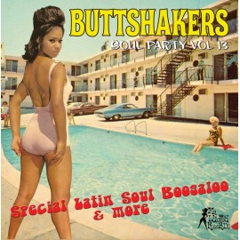 VARIOUS : LP Buttshakers Soul Party vol 13