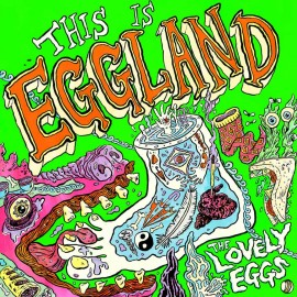 LOVELY EGGS (the) : LP This Is Eggland