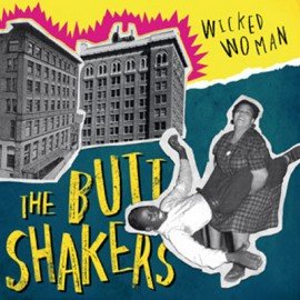 "BUTTSHAKERS (the) : 10""EP Wicked Woman"
