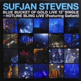 """STEVENS Sufjan : 12""""EP Blue Bucket Of Gold (Live)"""