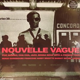 VARIOUS : LP Nouvelle Vague (Pop, Mambo, Cha Cha, Jazz, Bossa Nova With A French Touch)