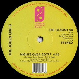 "JONES GIRLS (the) : 12""EP Nights Over Egypt"