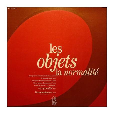 """OBJETS (les) : 12""""EP La Normalité"""