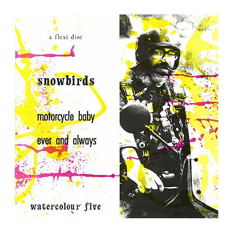 SNOWBIRDS : Zine+Flexi Motorcycle Baby