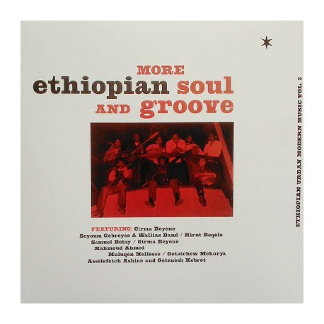 VARIOUS : LP More Ethiopian Soul And Groove - Ethiopian Urban Modern Music Vol. 3