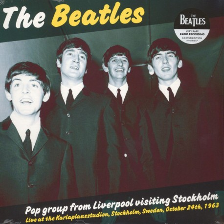 BEATLES (the) : LP Pop Group From Liverpool Visiting Stockholm