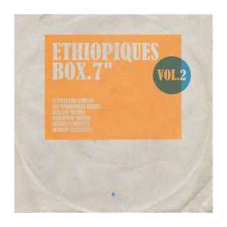 """VARIOUS : 7""""EPx6 Ethiopiques Box Vol2"""