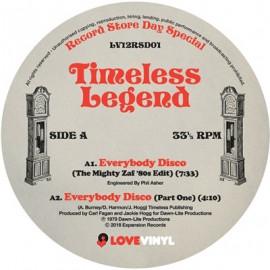"TIMELESS LEGEND : 12""EP Everybody Disco"