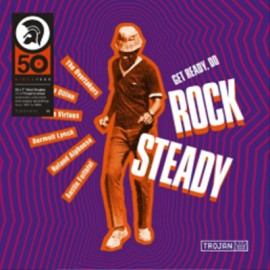 """VARIOUS : 7""""EPx10 Get Ready, Do Rock Steady"""