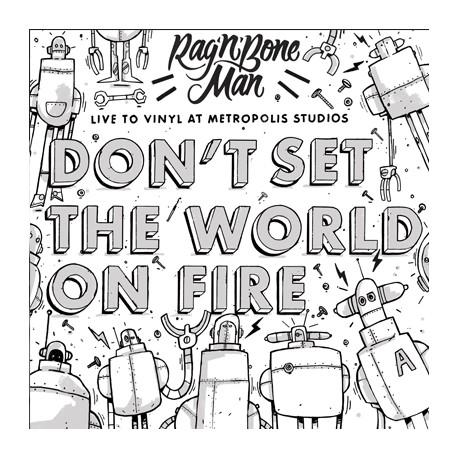 "RAG'N'BONE MAN : 12""EP Live To Vinyl At Metropolis Studios"