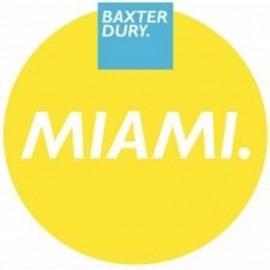 """DURY Baxter : 12""""EP Miami"""
