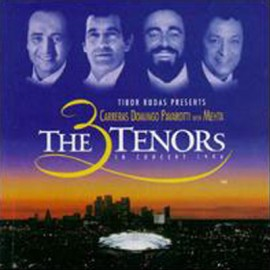 3 TENORS (the) : CD In Concert 1994