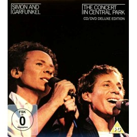 SIMON AND GARFUNKEL : CD+DVD The Concert In Central Park