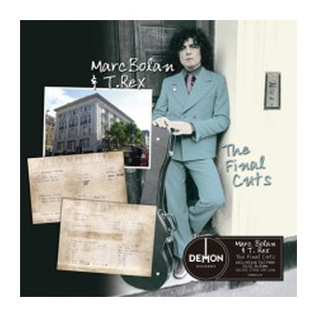 MARC BOLAN AND T REX : LP The Final Cuts