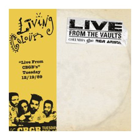 """LIVING COLOUR : 12""""EPx2 Live From CBGB"""