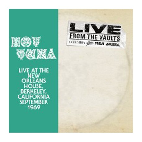 HOT TUNA 12'EPx2 Live at New Orleans House Berkeley California September 1969