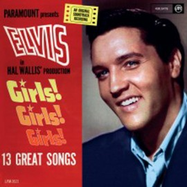 PRESLEY Elvis : LP Girls Girls Girls