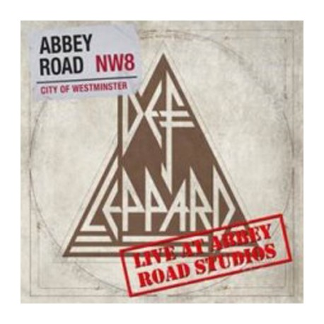 """DEF LEPPARD : 12""""EP Live Abbey Road NW8"""