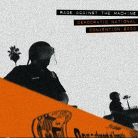 """RAGE AGAINST THE MACHINE : 12""""EP Democratic National Convention 2000"""