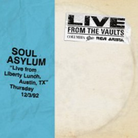 """SOUL ASYLUM : 12""""EPx2 Live From Liberty Lunch Austin"""