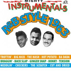 VARIOUS : LP Mighty Instrumentals R&BStyle 1963