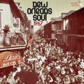VARIOUS : LP New Orleans Soul 1967