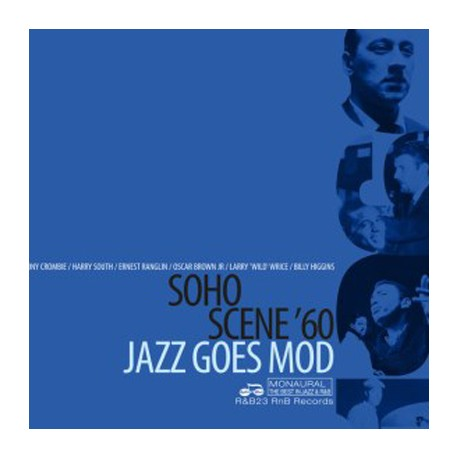 VARIOUS : LP Soho Scene 60 - Jazz Goes Mod