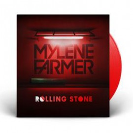 "MYLENE FARMER : 12""EP Rolling Stone (Rouge)"