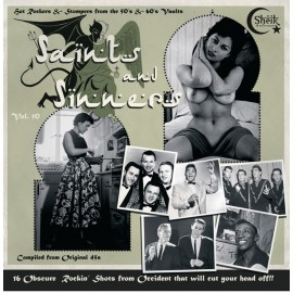 VARIOUS : LP Saints And Sinners Vol. 10