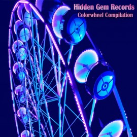 VARIOUS : LP  Hidden Gem Records - Colorwheel Compilation