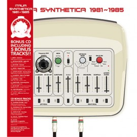 VARIOUS : LP+CD Italia Synthetica 1981-1985