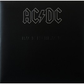 AC/DC : LP Back In Black