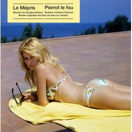 DELERUE Georges / DUHAMEL Antoine : LP Le Mépris, Pierrot Le Fou