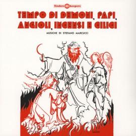 """MARCUCCI Stefano : 10""""EP Tempo Di Demoni, Papi, Angioli, Incensi E Cilici"""