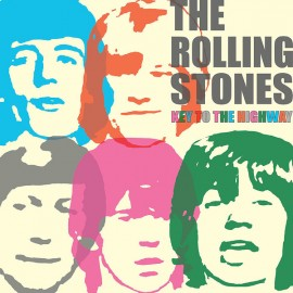 ROLLING STONES (the) : LP Key To The Highway (amber)