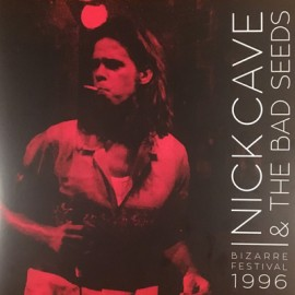 NICK CAVE & THE BAD SEEDS : LPx2 Bizarre Festival 1996 (Red LP)