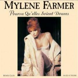 """MYLENE FARMER : 12""""EP Pourvu Qu'elles Soient Douces"""