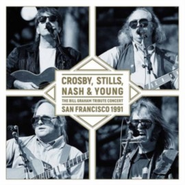 CROSBY, STILL, NASH And YOUNG : LP The Bill Graham Tribute Concert - San Francisco 1991