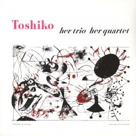 AKIYOSHI Toshiko : LP Her Trio, Her Quartet