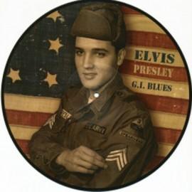 PRESLEY Elvis : LP Picture G. I. Blues