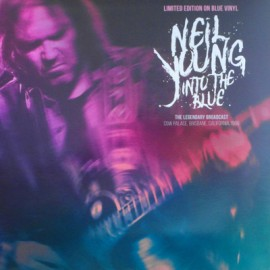 NEIL YOUNG : LP Into The Blue