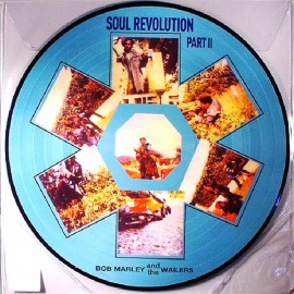 MARLEY Bob & THE WAILERS : LP Picture Soul Revolution II