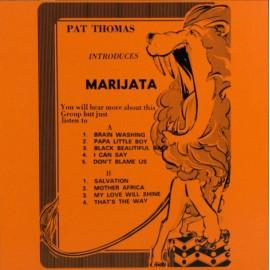 THOMAS Pat : LP Pat Thomas Introduces Marijata