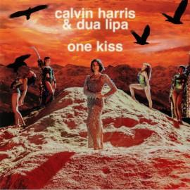 """DUA LIPA / HARRIS Calvin : 12""""EP One Kiss"""