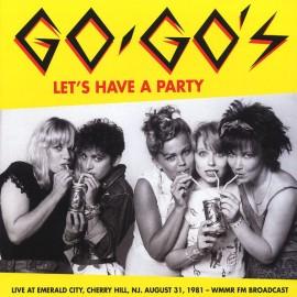 GO-GO's : LP Let's Have A Party
