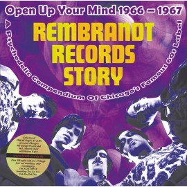 "VARIOUS : LP+7"" Rembrandt Records Story (Open Up Your Mind 1966 - 1967)"