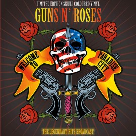 GUNS N' ROSES : LP Welcome To A Night At The Ritz : Skull coloured